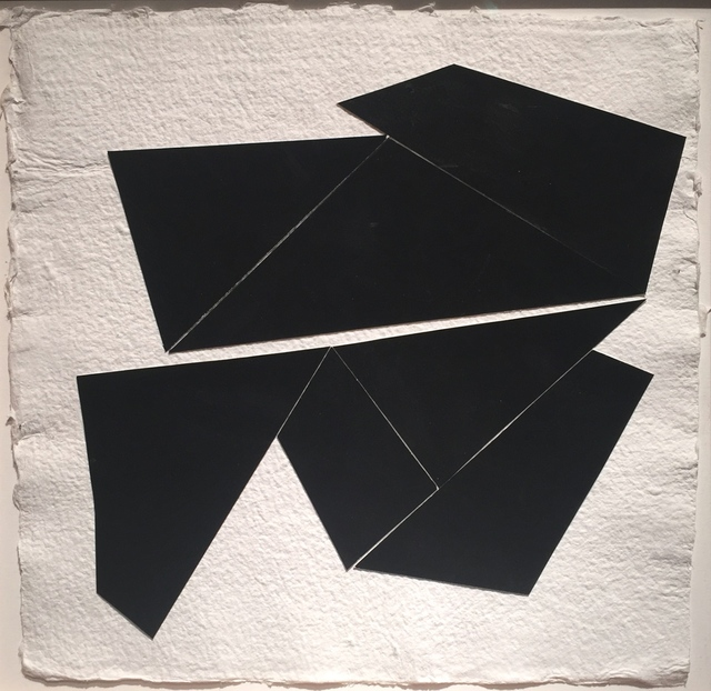 , 'Black Collage 8,' 2014, Berry Campbell Gallery