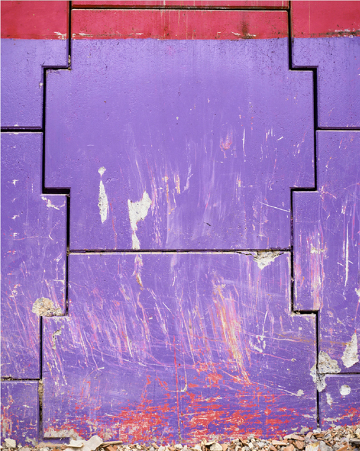 , 'La Abstracción I, Morada,' 2008, Barbara Gross