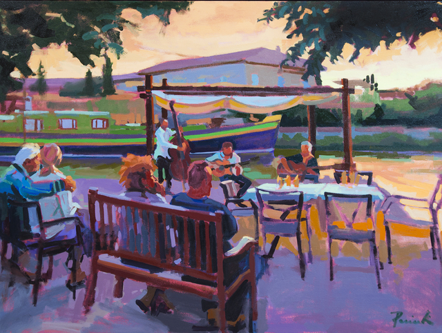 , 'Setting Jazz Canal,' 2018, ArtProv Gallery