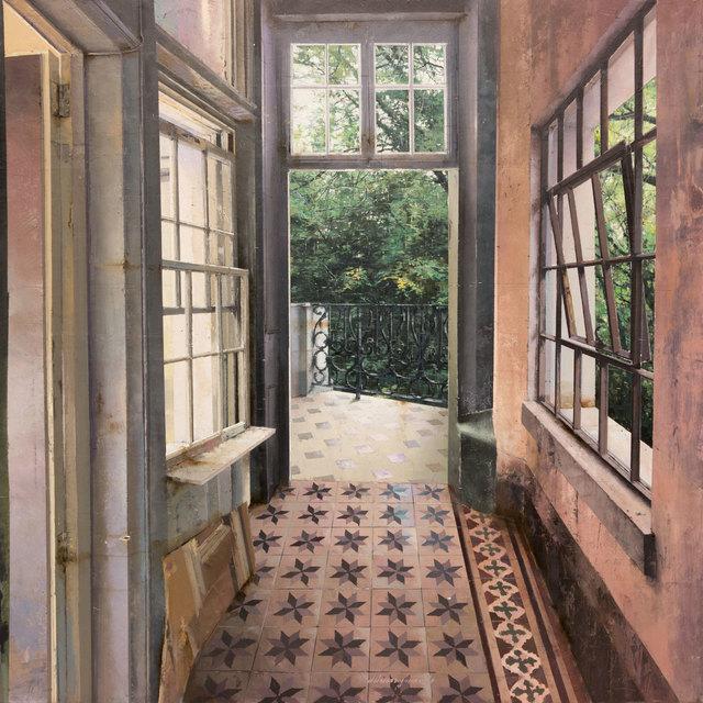 , 'Corridoio,' 2017, Pontone Gallery