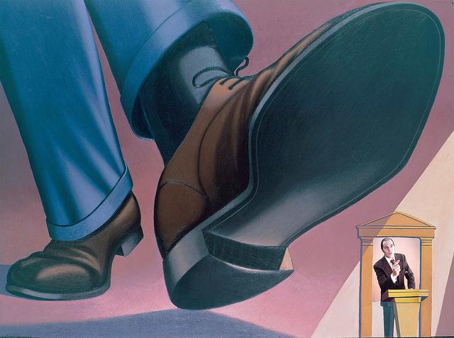 , 'Politicians,' 2004, Anna Laudel