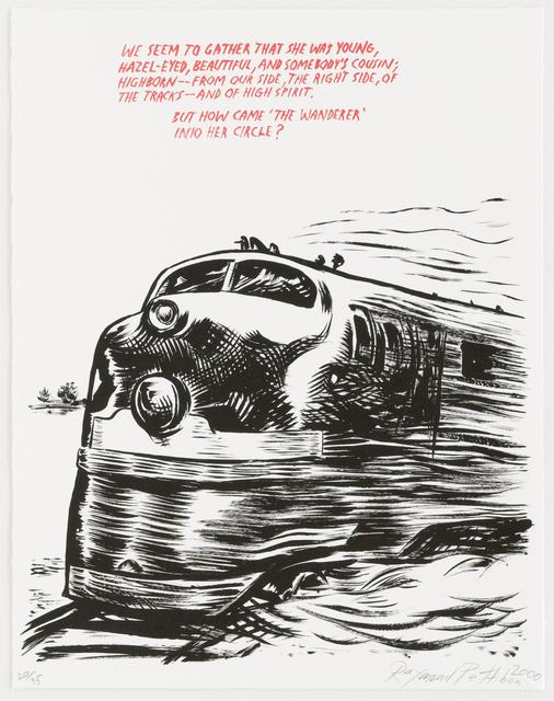 , 'Untitled (Train),' 2000, Brooke Alexander, Inc.