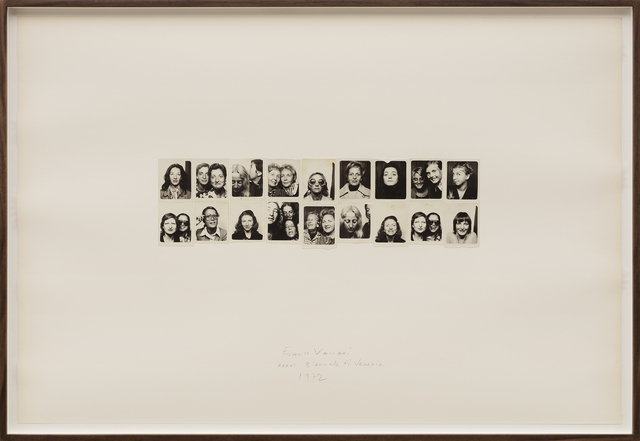 , 'Exhibition in Real Time n.4, XXXVI Venice Biennale,' 1972, SAGE Paris