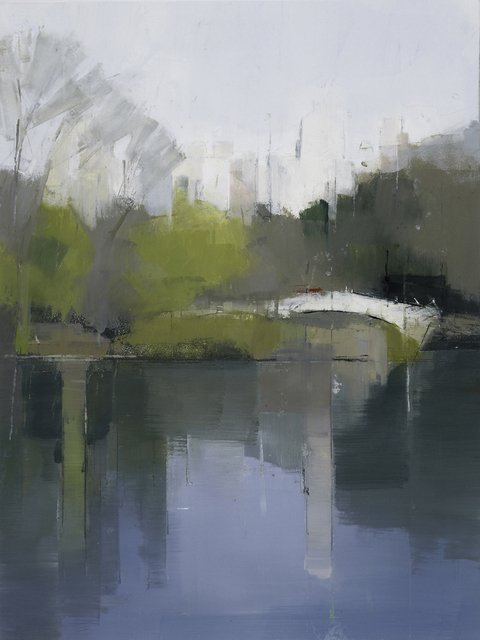, 'Central Park Lake 3,' 2012, Kathryn Markel Fine Arts