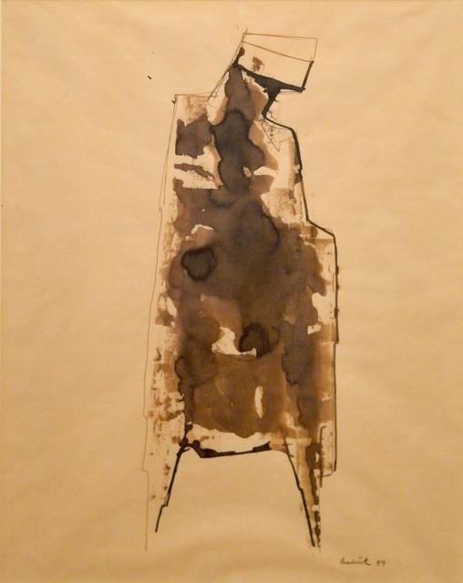 , 'Study for Watcher Figure,' 1959, Waterhouse & Dodd