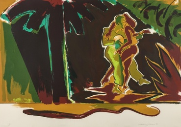Allen Jones, 'The Glade (from Islands) (Lloyd 102b),' 1988, Forum Auctions: Editions and Works on Paper (March 2017)
