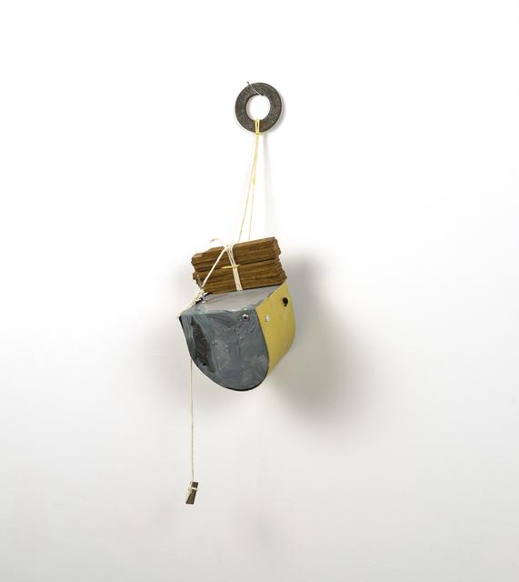, 'uncertain box,' 2016, Lesley Heller Gallery