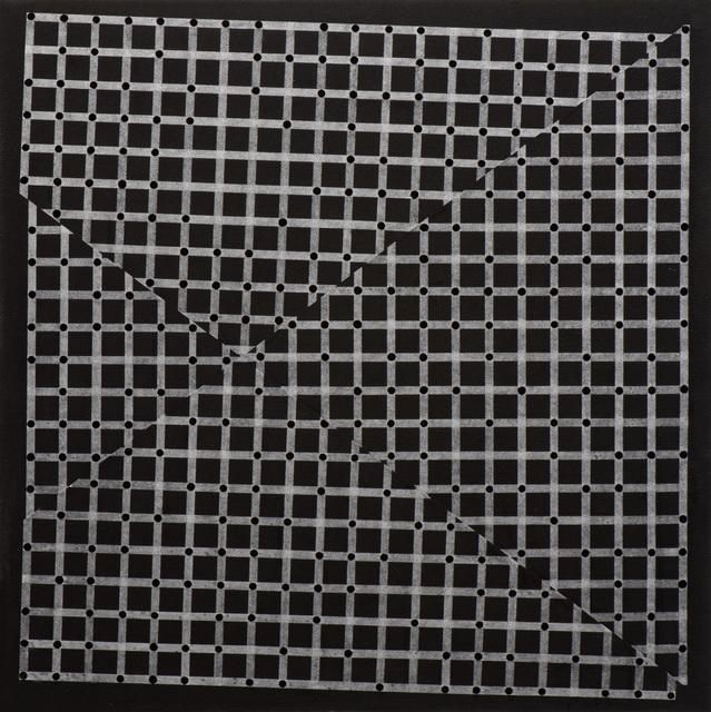 Christopher Iseri, 'Grids and Dots III (black)', 2016, Moskowitz Bayse
