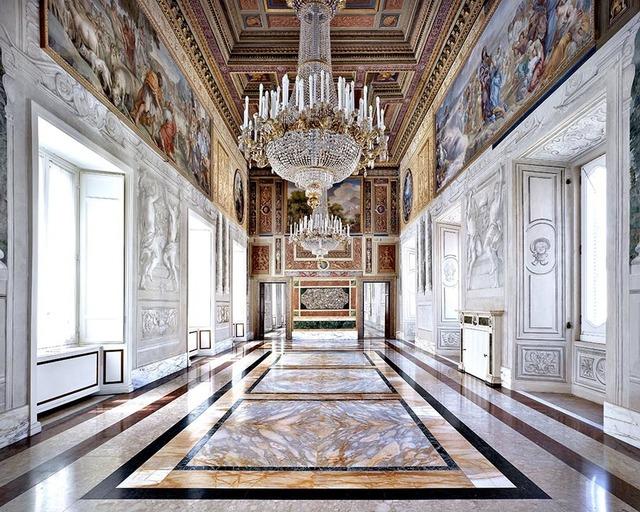 Massimo Listri, 'Palazzo del Quirinale | Sala Gialla, Rome, Italy (Portrait of Interiors)', 2015, Photography, Chromogenic Print | Framed, CHROMA GALLERY
