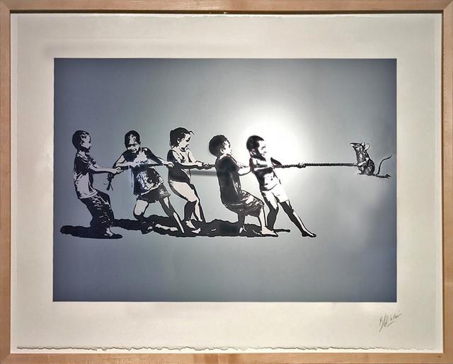 , 'Rope Pulling,' 2016, Galerie Kronsbein