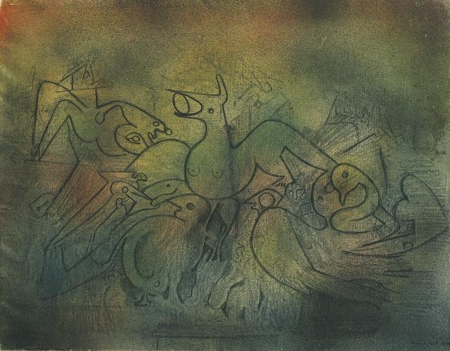 , 'Les Oiseaux,' 1934, Omer Tiroche Gallery