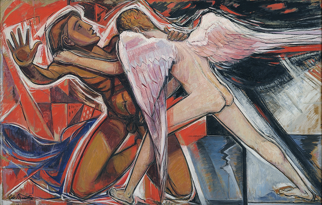 , 'Jacob Wrestling with the Angel,' 1958, Charles Nodrum Gallery