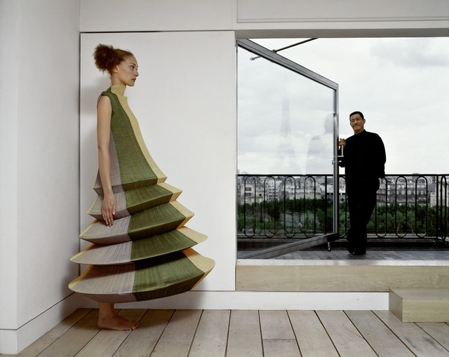 , 'Issey Miyake et Chrystèle Saint-Louis Augustin,' 1996, Photo12 Galerie