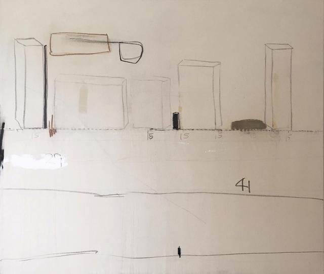 , '29 cm, 15 cm, 41 cm,' 2016, GALERIE OVO