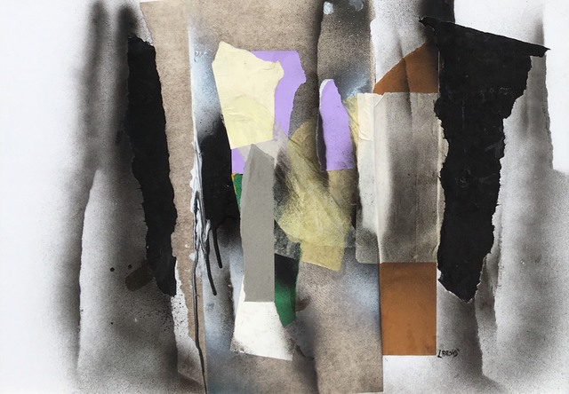 Leonard Brooks, 'Untitled', no date, Mixed Media, Collage on card, Rumi Galleries