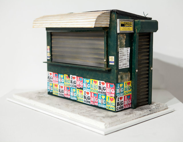 , 'News Stand #2,' 2015, Hashimoto Contemporary