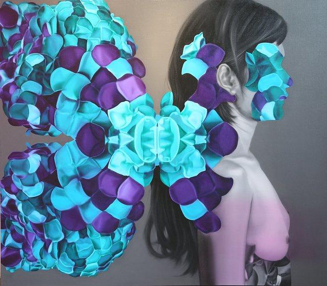 , 'Jewel beetle wing,' 2015, Adler Subhashok Gallery Bangkok