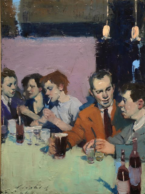 , 'At The Bar,' 2018, Telluride Gallery of Fine Art