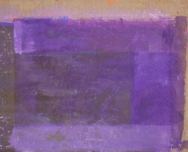 , 'Prédelle violet,' 2012, Bogena Galerie