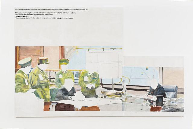 , 'Composite,' 2013, Wentrup