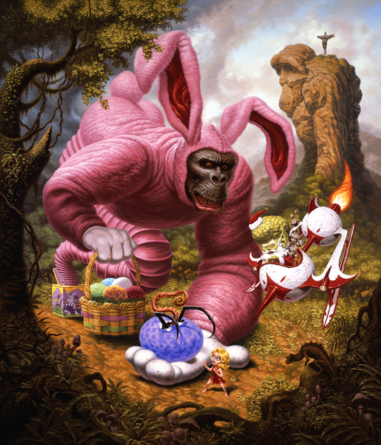 Todd Schorr, 'Ape Allegory', 2009, KP Projects