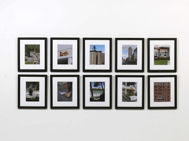 , 'Shooting Log,' 2009, mfc - michèle didier
