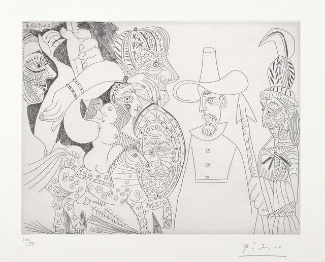 Pablo Picasso, '347 Series: plate 338', 1968, Phillips