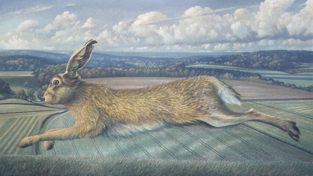 , 'The Longleat Hare,' 2018, Jonathan Cooper