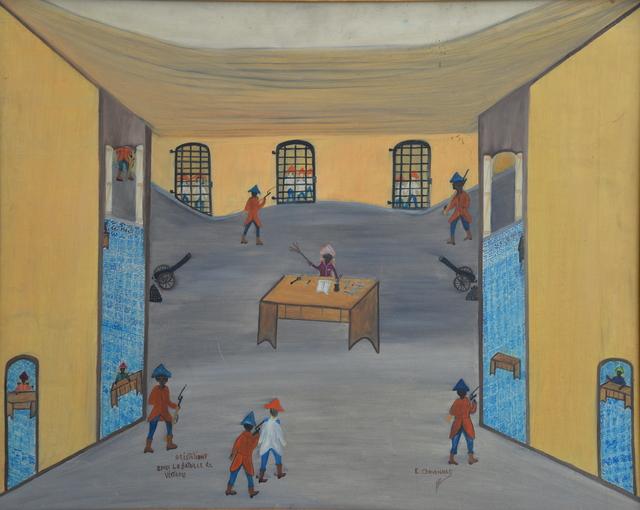 , 'Arrestation après la bataille de vertières,' , Le Centre d'Art d'Haïti
