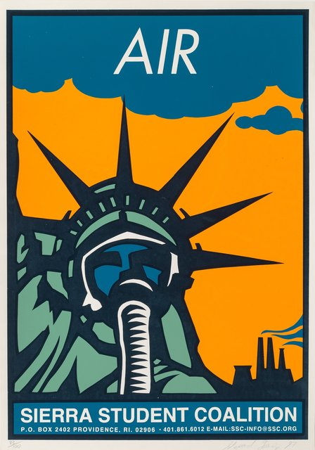 Shepard Fairey, 'Air', 1997, Print, Screenprint in colors on paper, Heritage Auctions