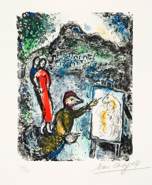 , 'Near St. Jeannet,' 1972, Galerie d'Orsay