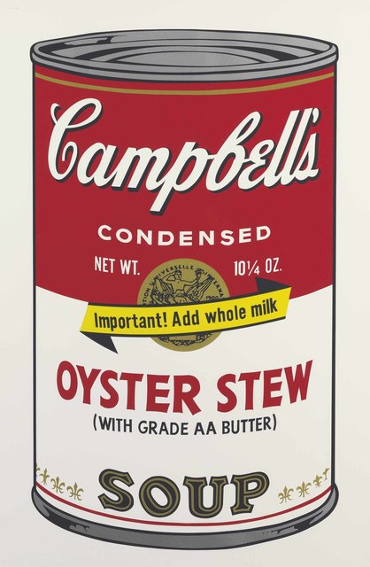 Andy Warhol, 'Oyster Stew, from Campbell's Soup II', 1969, Print, Screenprint in colors, on smooth wove paper, Christie's