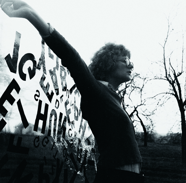 , 'Folientext,' 1969, Krobath