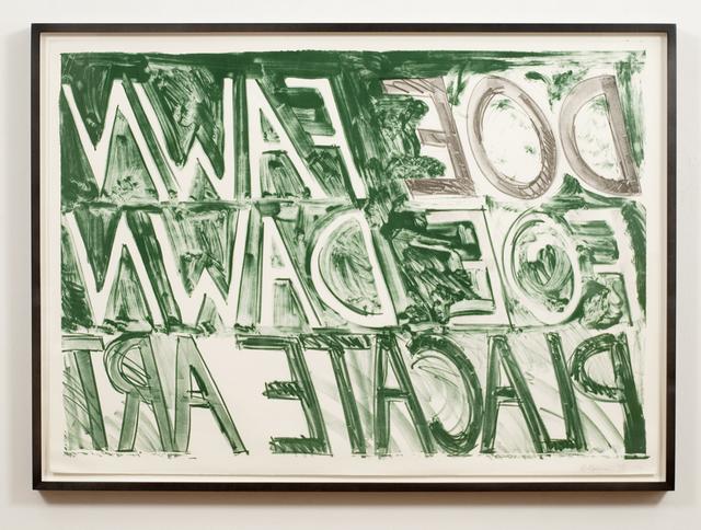 , 'Doe Fawn,' 1973, Brooke Alexander, Inc.