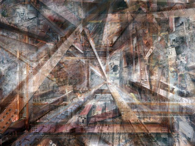 , 'W.T.C: Concrete Abstract #2,' 2011-2013, Julie M Toronto