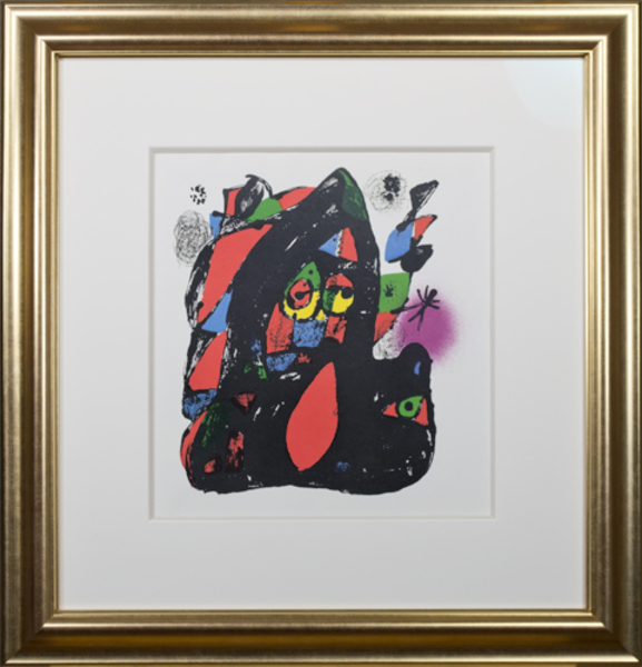 """, 'Lithographs IV Cover from """"Miro Lithographs IV, Maeght Publisher"""",' 1981, David Barnett Gallery"""