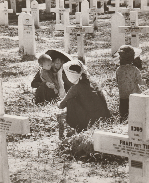 Robert Capa, 'In a Cemetery in Nam Dinh', 1954, PDNB Gallery