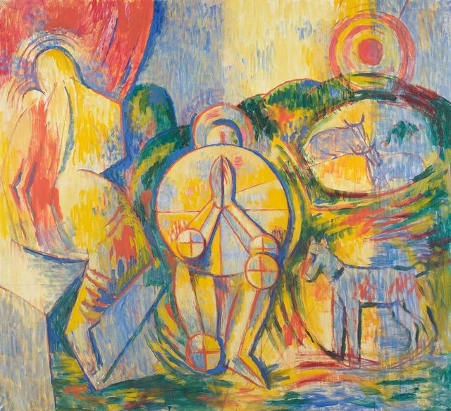 , 'Praying Knight,' 1957, Belvedere Museum