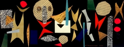 , '1954 Collage,' 1954, Gillian Bryce Fine Art