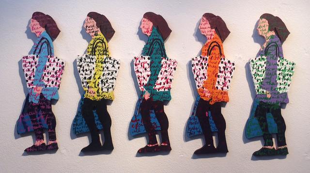 , 'Where's Home: Commuting ,' 1990, Atrium Gallery