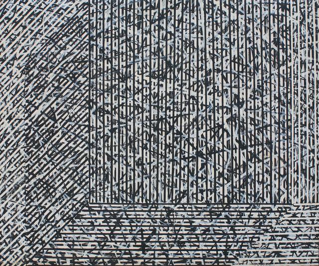 , 'Line Field 3,' 1993, Mind Set Art Center