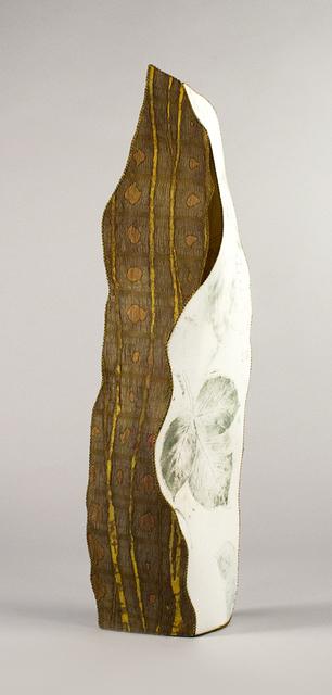 Cameron Anne Mason, 'Vashon', 2020, Textile Arts, Silks, rayon-silk velvet, rayon, cotton, wool yarn, non-woven innerfacing, rayon, cotton, and polyester threads on wood panel., Foster/White Gallery