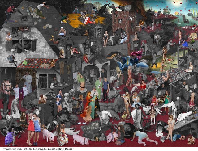 , 'Netherlandish Proverbs,' 2014, Galeria Contrast