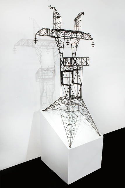 , 'Abstract Model Series #6 (Symmetric tower with 25 degree incline),' 2015, OTA Contemporary