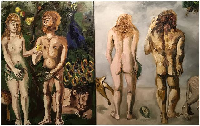 , 'Adam and Eve,' 2017, Hal Bromm
