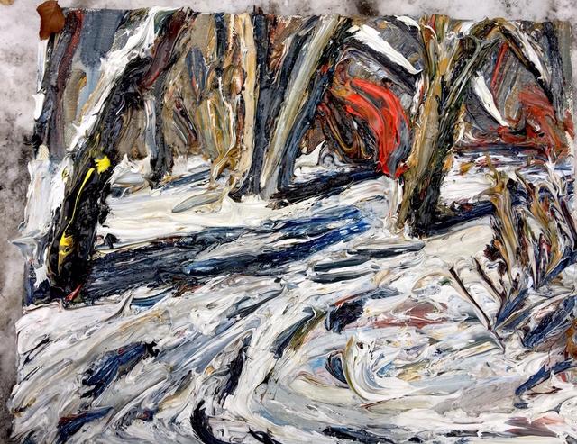 , 'Licht und Schatten im Tiergarten,' 2017, Galerie Kornfeld