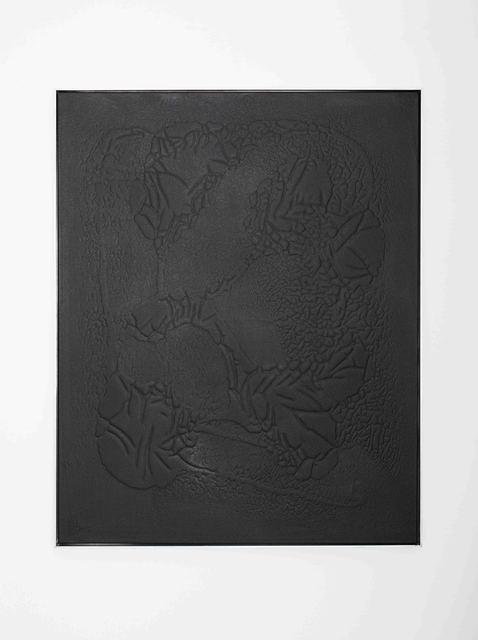 , 'Black #1,' 2016, Rolando Anselmi