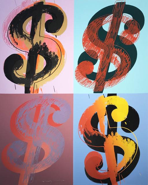 Andy Warhol, '$ (Quadrant) II.283', 1982, Hamilton-Selway Fine Art