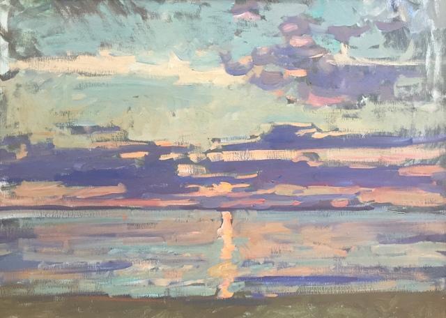 Ben Fenske, 'Violet Horizon', 2019, Grenning Gallery