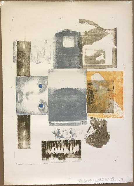 Robert Rauschenberg, 'Elopement from Romances', 1977, Sragow Gallery